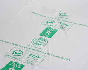 Persbericht; Base Packaging introduceert Bio-Base(d) afvalzak van groene PE