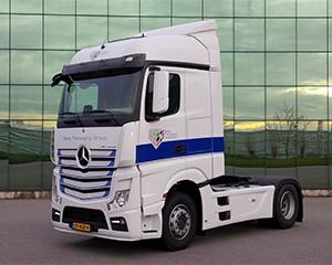 Nieuwe vrachtwagen van de Best Packaging Group